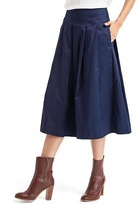 Gap Pleated A-line midi skirt