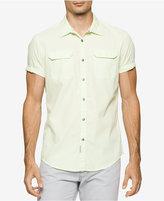 Calvin Klein Jeans Men's Shazan Stripe Shirt