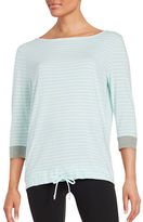 Karen Neuburger Striped Lounge Top