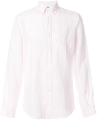 Aspesi creased button down shirt
