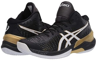 Asics Sky Elite FF MT (Black/White) Men's Volleyball Shoes
