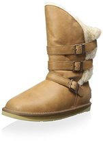 Australia Luxe Collective Women's Nadir Three Buckle Mid Boot