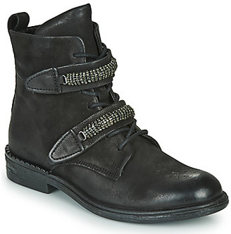 Mjus PALLY women's Mid Boots in Black
