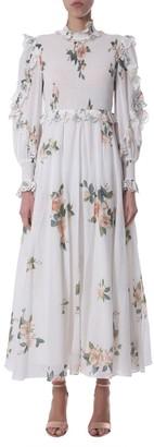Zimmermann Floral Print Maxi Dress