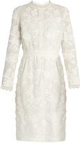 Vanessa Bruno Foraine embroidered cotton-voile dress