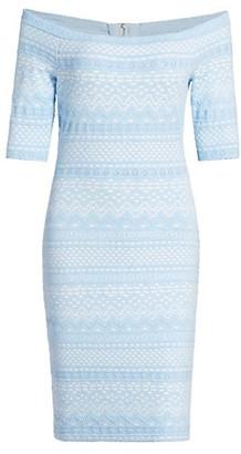 Milly Off-The-Shoulder Knit Dress