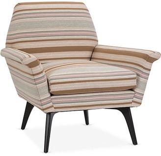 Kim Salmela Rowan Chair - Brown Stripe