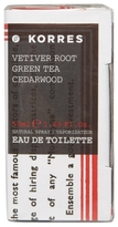 Korres Vetiver Root Green Tea and Cedarwood Eau de Toilette 50ml