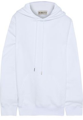 Fiorucci Printed Cotton-fleece Hoodie