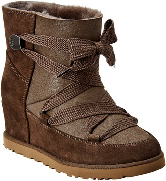 UGG Women's Classic Femme Lace-Up Suede Boot