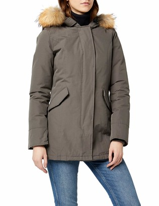 Canadian Classics Women's Down Jacket Raincoat Red Rot (Bright Red BRRE) 20