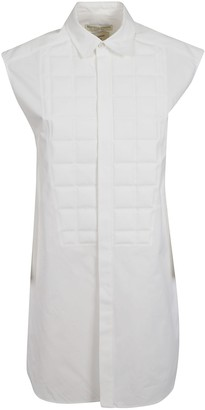 Bottega Veneta Padded Front Sleeveless Long Shirt