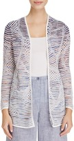 Nic+Zoe Wildflower Textured Stripe Cardigan
