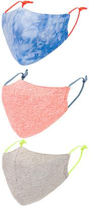 Lele Sadoughi Set of 3 Face Masks
