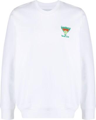 Casablanca Embroidered Logo Sweatshirt