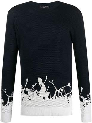 Frankie Morello slim-fit crew neck jumper