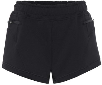 adidas by Stella McCartney Cotton-blend shorts