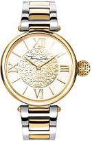 Thomas Sabo Karma Women's Watch, White Dial, Two Tone Stainless Steel Bracelet