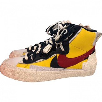 Sacai Nike X Nike X Blazer Mid Multicolour Leather Trainers