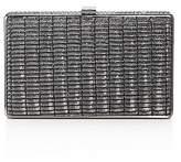 Sondra Roberts Metallic Fabric Clutch