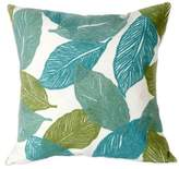 Liora Manné Mystic Leaf 20-Inch x 20-Inch Outdoor Throw Pillow in Aqua