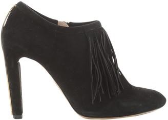 Chloé Black Suede Boots