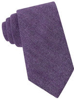 Michael Kors Peter Striped Silk Blend Tie