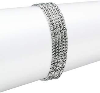 John Hardy Silvertone Five-Row Chain Bracelet