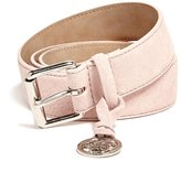 GUESS Suede Charm Belt