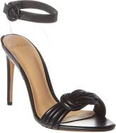 Alexandre Birman Vicky 100 Leather & Vinyl Sandal