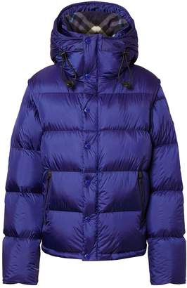 Burberry Multiway Hooded Puffer Jacket