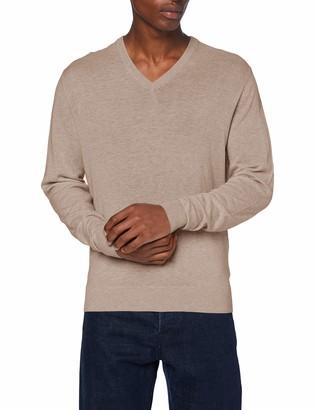 Hackett London Hackett Men's Wool Silk Cashmere V Pullover Sweater