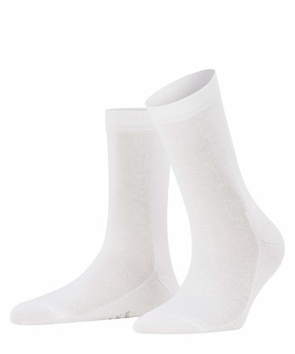 Falke Women's Family Crew White Socks EU 35-38 (US Women's 5-7.5)