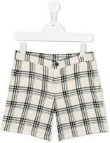 Douuod Kids - checked shorts - kids - Cotton - 4 yrs