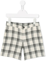 Douuod Kids checked shorts