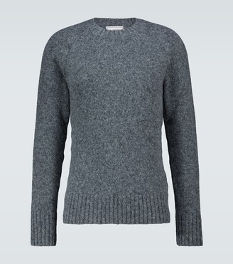 AMI Paris Wool-blend crewneck sweater