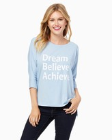 Charming charlie Dream Believe Achieve Graphic Tee
