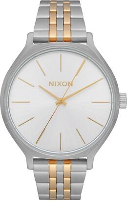 Nixon Women's Clique Stainless Steel Bracelet Watch, 38mm