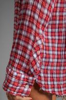 C&C California Mini Multi Crinkle Plaid Shirt