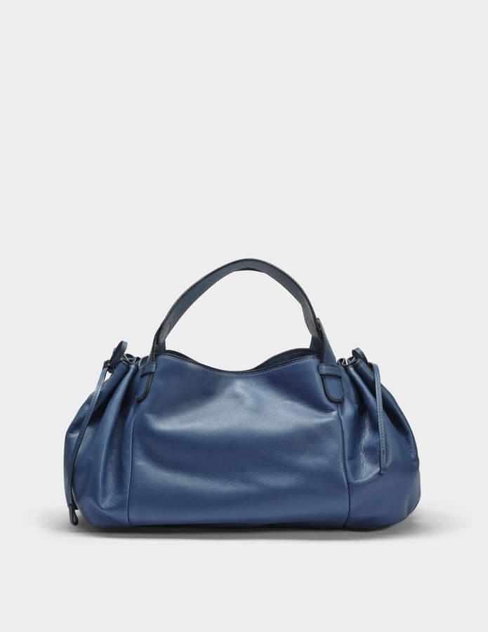Gerard Darel 24 GD Bag in Blue Jean Calfskin