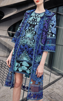 Naeem Khan Embroidered Coat