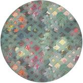 N. Nicolette Mayer Defosse Trellis Round Pebble Placemats, Set of 4