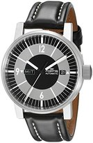 Fortis Men's 623.10.38 L.01 Spacematic Classic Black Analog Display Automatic Self Wind Black Watch