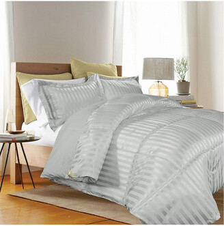 Blue Ridge Home Kathy Ireland Home Essentials Down Alternative Damask Comforter Set