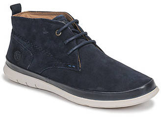 Kickers LAYTON men's Mid Boots in Blue