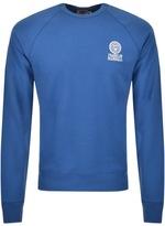 Franklin & Marshall Franklin Marshall Logo Sweatshirt Blue