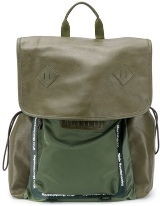 White Mountaineering Panelled Backpack