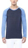 American Crew Men's Solid Raglan T-Shirt - L (AC807-L)