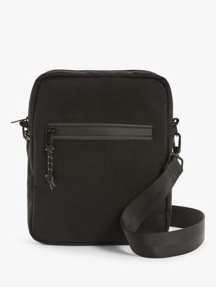KIN Malmo Cordura Reporter Bag, Black