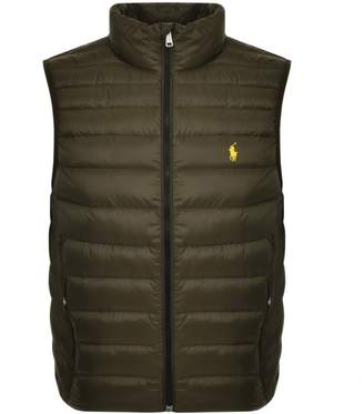Ralph Lauren Holden Down Gilet Green